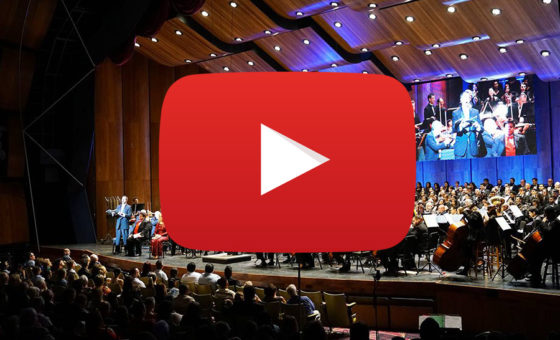 Listen to past VSO concerts on YouTube